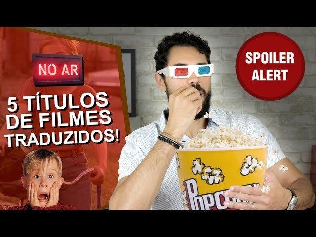 No post de hoje falaremos de adaptações de títulos de filmes do Inglês para o Português.