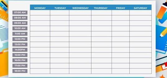 Como Fazer um Cronograma de Estudos de Inglês?